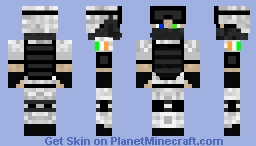 Irish Winter Soldier Minecraft Skin