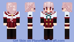 Iroha Tamaki (School Uniform) Minecraft Skin