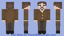 """Iron Felix"" Dzerzhinsky   Director of the Cheka Minecraft Skin"