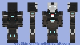 Iron Man Mark 16 (Camouflage) Minecraft Skin