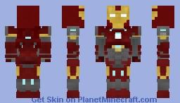 Iron Man Mark 16 Minecraft Skin