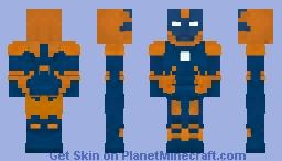 Iron Man Mark 27 Minecraft Skin