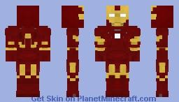 Iron Man Mark 3 Minecraft Skin