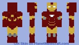 Iron Man Mark 6 Minecraft Skin
