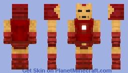Iron Man Proto-Classic Armor (Model 02) Minecraft Skin