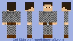 Chainmail Armor Minecraft Skin