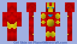 Iron Man (Iron-Man) Minecraft Skin