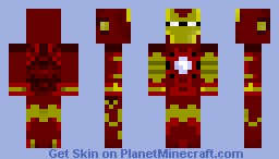 Ironman Minecraft Skin