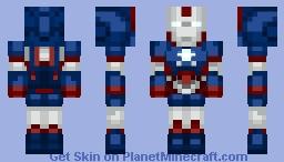 Iron Patriot [Iron Man 2] Minecraft Skin