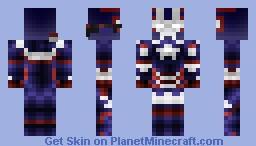 Iron Patriot - Iron Man 3 {Shaded} Minecraft Skin