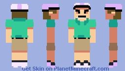 Irresponsible Dad (Happy Wheels / FNF Mods) Minecraft Skin