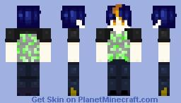 Isamu Jirou   Saimiya High School Minecraft Skin