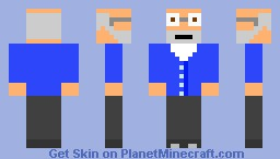 Kevin's Sims 3 character Jim Pickens in his normal clothes :D (Kevin/zXNoRegretzzXz Minecraft Skin