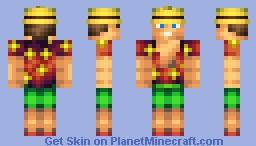 Islander Minecraft Skin