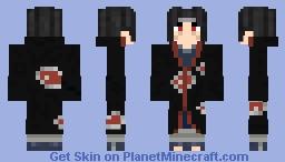 Itachi Uchiha: Naruto Shippuden (#0357) Minecraft Skin