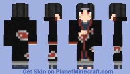 Itachi Uchiha hands off: Naruto Shippuden (#0357) Minecraft Skin