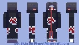 Akatsuki - Itachi Uchiha Minecraft Skin