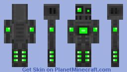 Robot-Green Minecraft Skin
