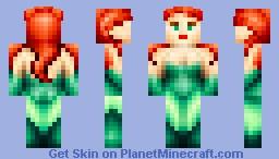 Poison Ivy (Batman) Minecraft Skin