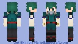 "Izuku ""Deku"" Midoriya (My Hero Academia) Alts. Included! Minecraft Skin"