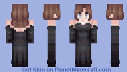 never is a promise | elegant dress Minecraft Skin