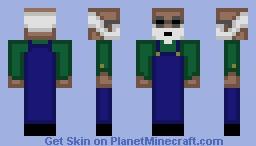 Jack Hoffman From GoldRush Minecraft Skin
