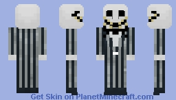 Jack Skellington | Nightmare Before Christmas Minecraft Skin
