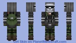 Apocalypse: Russian Mercenary Minecraft Skin