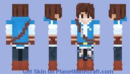 Breath of the Wild Inspired Minecraft Skin