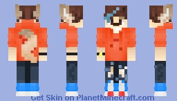 Something new I've tried out Minecraft Skin