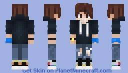 It's a me, Thqnder! Minecraft Skin