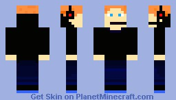 Basically me with headset Minecraft Skin