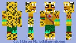Jaguar Warrior Minecraft Skin