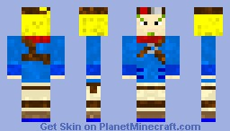 Jak (From Jak and Daxter) Minecraft Skin