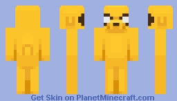 Jake the Dog (Adventure Time) Minecraft Skin