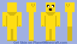 Jake the Dog Minecraft Skin
