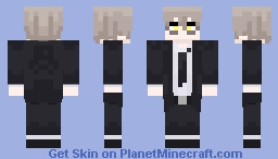 Jalter with suit Minecraft Skin