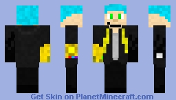 James Brock (Secondary Outfit) Minecraft Skin