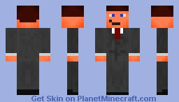 The name is Bond, James Bond Minecraft Skin