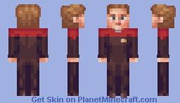 Captain Kathryn Janeway Star Trek Voyager Minecraft Skin