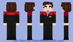 Captain Janeway Minecraft Skin