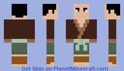 Japanese Man Minecraft Skin