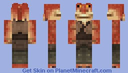 Jar Jar Binks - Star Wars Minecraft Skin