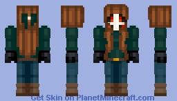 Jason Voorhees - Girl Minecraft Skin