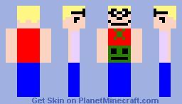 Jason Fox from Foxtrot Minecraft Skin