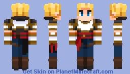 Jaune | RWBY Minecraft Skin