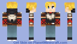 Jaune [RWBY] from Rooster Teeth Minecraft Skin