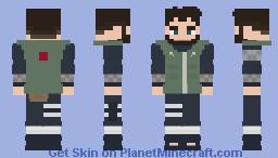 Jax Moon [Chunin] [Naruto: Shippuden] [E se...?] Minecraft Skin
