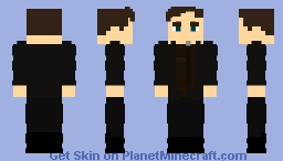 (The Fake) Jay Garrick Earth-2 Casual - CW Minecraft Skin