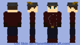(The Fake) Jay Garrick   The Flash Earth-2 Suit (With a Helmet) Minecraft Skin